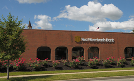 First Merchants Bank Connorsville IN Banking Center Location photo