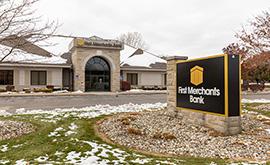 First Merchants Lambertville MI Banking Center   Banks Near Me