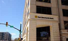 First Merchants Lafayette Downtown Banking Center Photo | Banks Near Me