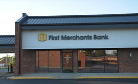 First Merchants River Road Banking Center Noblesville IN | Banks Near Me