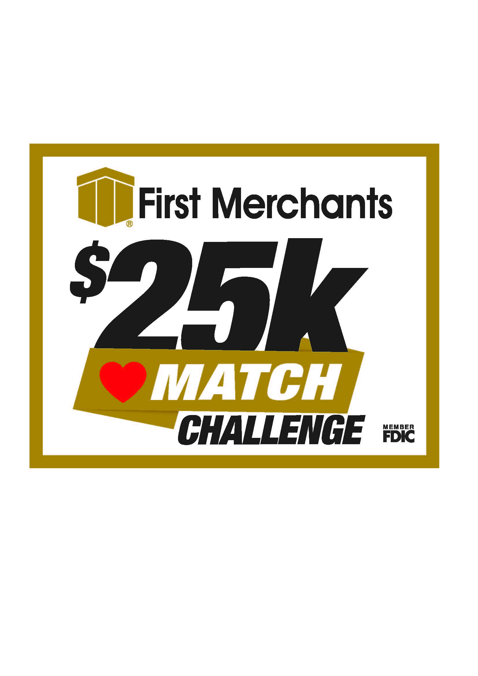 United Way Give From the Heart 25k match