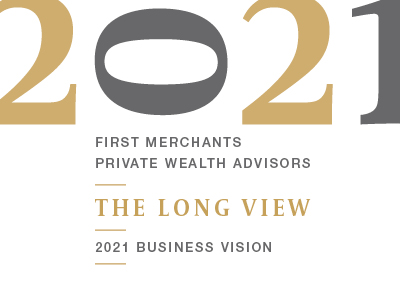 Private Wealth Advisors The Long View 2021 Business Vision graphic