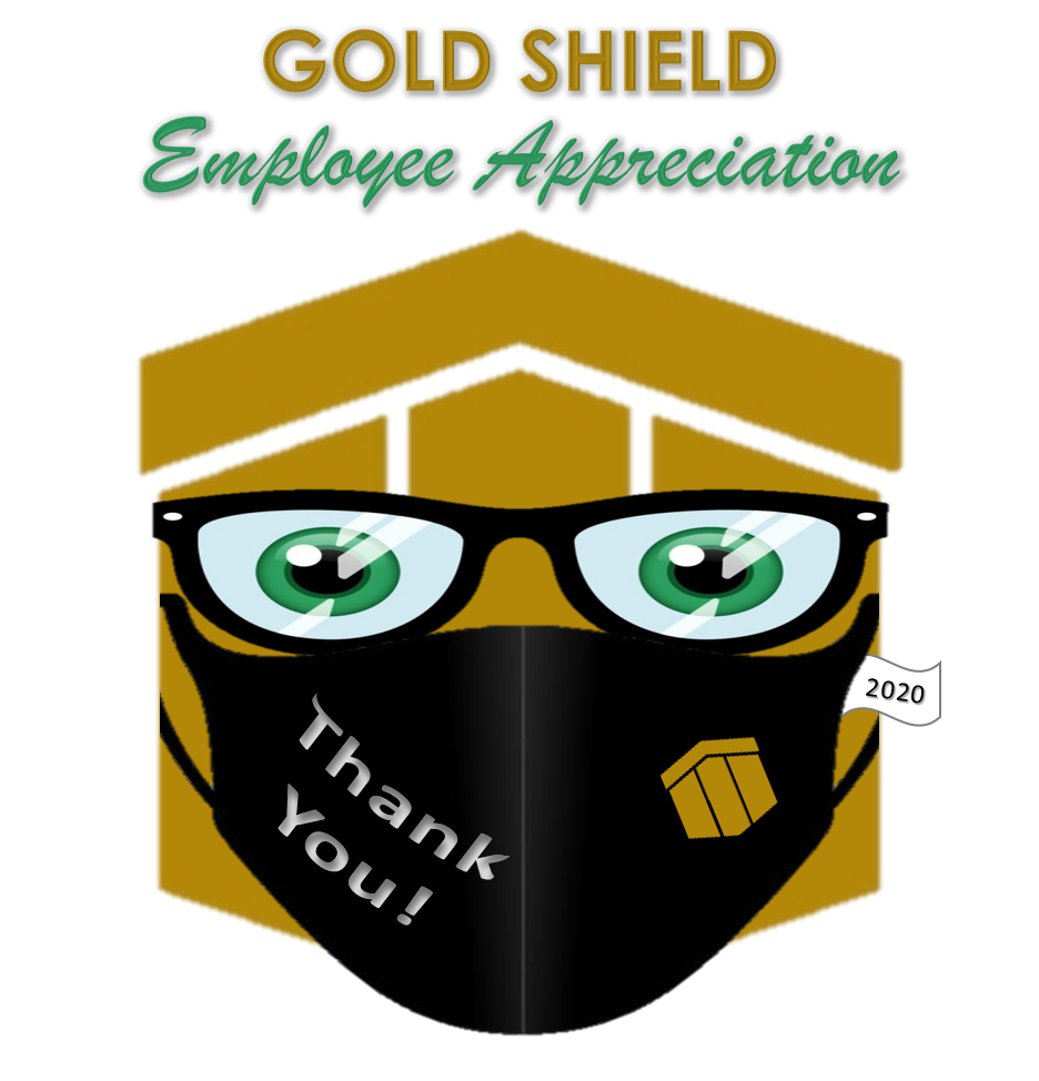 2021 Gold Shield Awards Logo