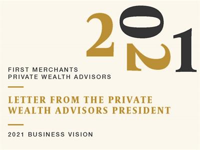Letter from the Private Wealth Advisors President graphic