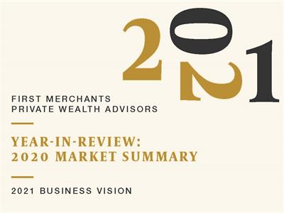 The Long View Year in Review 2021 Market Summary graphic